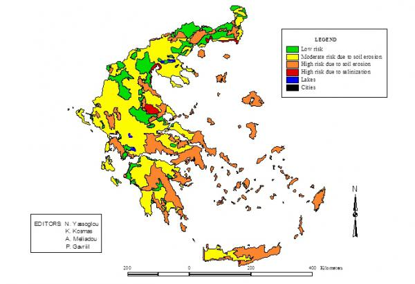 LEDD issues in cropland Greece and Messara Valley